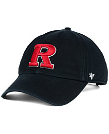 '47 Brand Rutgers Scarlet Knights Clean-Up Cap
