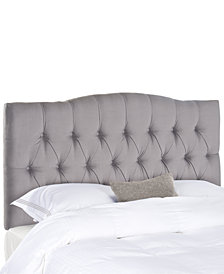 Jorie Upholstered Tufted Full Headboard, Quick Ship