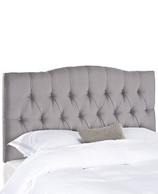 Jorie Upholstered Tufted Queen Headboard, Quick Ship
