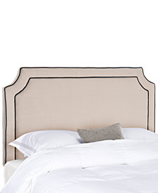 Lyon Upholstered Full Headboard, Quick Ship