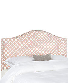 Isla Upholstered Upholstered Queen Headboard, Quick Ship