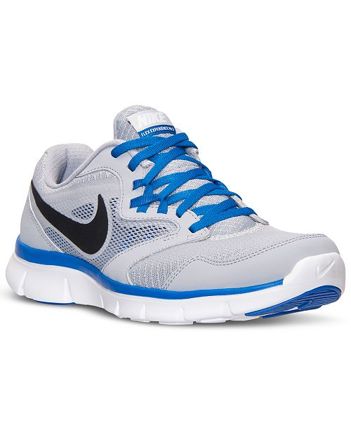 Nike Men s Flex Experience Run 3 Wide Running Sneakers from Finish ... 90240fd3e8fca