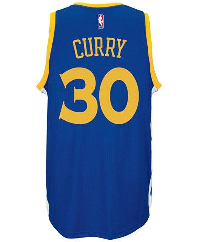 adidas Men's Stephen Curry Golden State Warriors Swingman Jersey