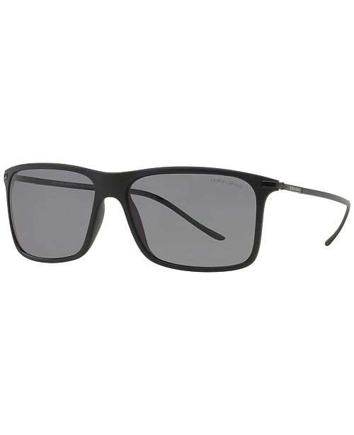 8b7a80ce6593 Giorgio Armani Polarized Polarized Sunglasses , AR8034 & Reviews ...