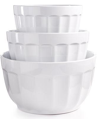 martha stewart collection set of 3 fluted melamine bowls new martha stewart living kitchens at the home depot video