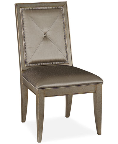 Ailey Side Chair - Furniture - Macy's