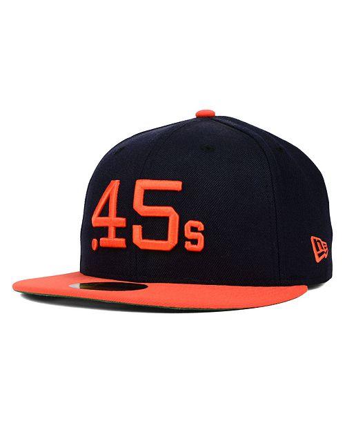 5d6097e7e1e New Era Houston Colt 45s MLB Cooperstown 59FIFTY Cap   Reviews ...