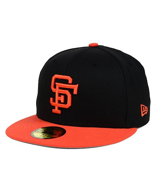 1a70fcbbb28924 New Era San Francisco Giants MLB Cooperstown 59FIFTY Cap & Reviews ...