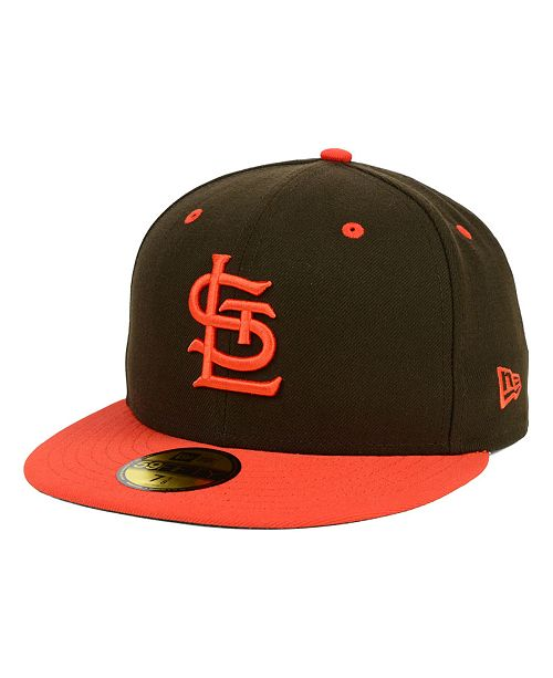 da3a9afff3fff New Era. St. Louis Browns MLB Cooperstown 59FIFTY Cap. Be the first to  Write a Review. main image ...