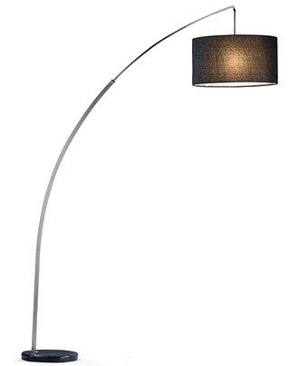 rivington arc floor lamp lighting lamps for the home macy 39 s. Black Bedroom Furniture Sets. Home Design Ideas