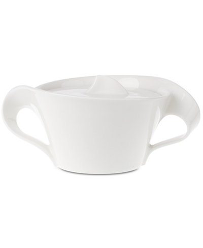 Villeroy boch dinnerware new wave sugar bowl for Villeroy boch wave