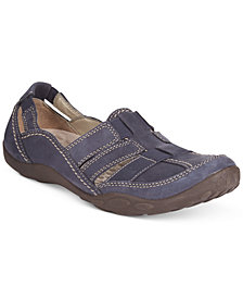 Clarks Collection Women's Haley Stork Slip-On Flats