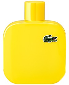Men's Eau de Lacoste Men's L.12.12 Yellow Eau de Toilette Spray, 3.3 oz.