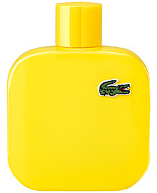 Lacoste Men's Eau de Lacoste Men's L.12.12 Yellow Eau de Toilette Spray, 3.3 oz.