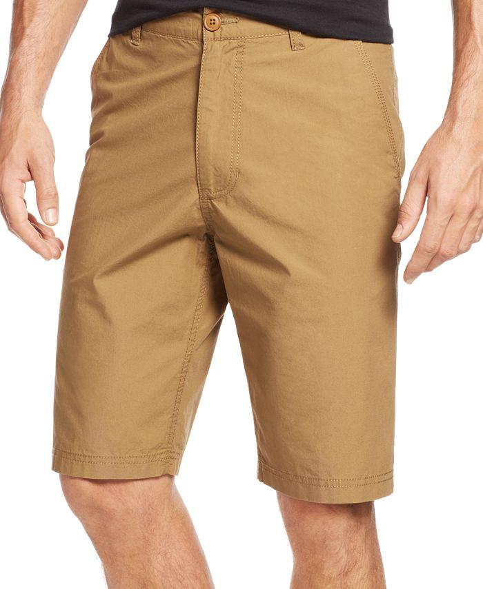 American Rag - Solid Slim-Fit Poplin Shorts