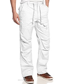 Men's Big and Tall Pants, Pleat Pocket Flight Cargo Pants
