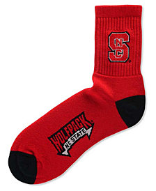 For Bare Feet North Carolina State Wolfpack Ankle TC 501 Socks