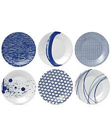 Royal Doulton Pacific Tapas Plates, Set of 6
