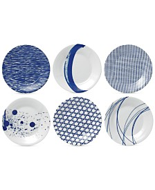 Royal Doulton Pacific Tapas Plates, Set of 6
