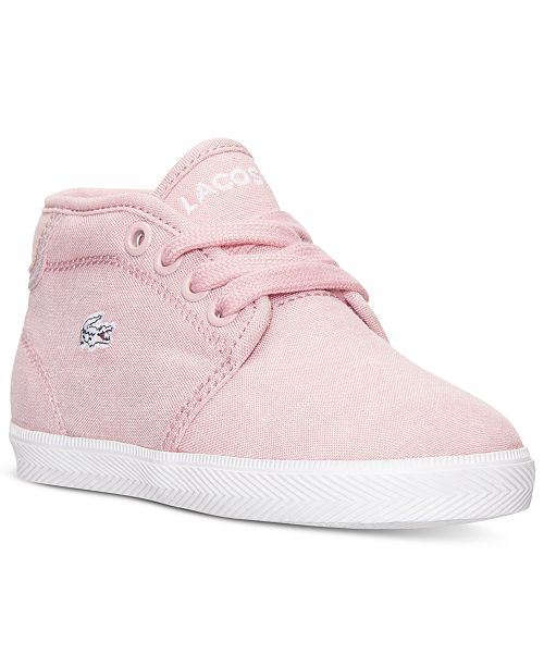 e954096036c1 Lacoste Toddler Girls  Ampthill SEG Casual Sneakers from Finish Line ...