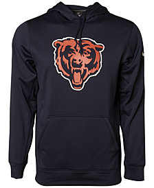 Nike Men's Chicago Bears KO Logo Essential Hoodie
