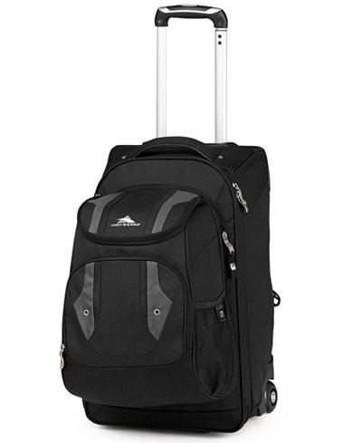 CLOSEOUT! High Sierra Adventure Access Carry On Rolling Backpack ...