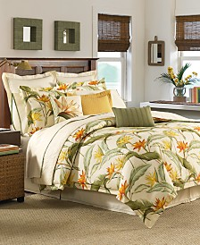 CLOSEOUT! Tommy Bahama Home Birds of Paradise Queen 4-Pc. Comforter Set