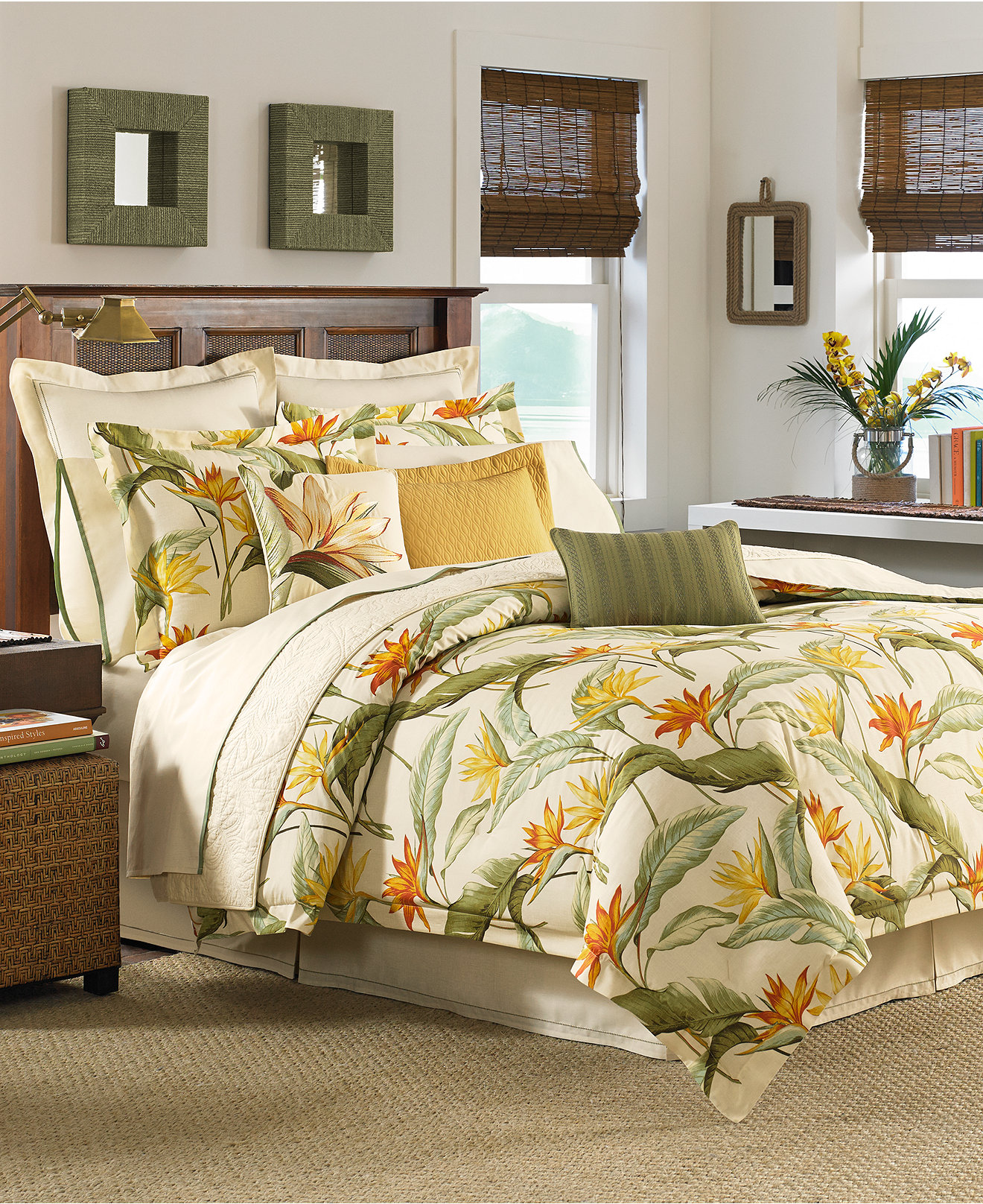 Macy Bedroom Furniture Closeout Closeout Tommy Bahama Birds Of Paradise 3 Pc Bedding Collection