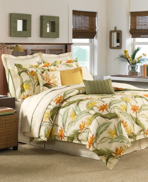 Tommy Bahama Home Birds of Paradise California King 4-Pc. Comforter Set Bedding