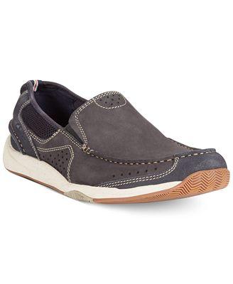 Clarks Men's Allston Free Slip-On Boat Shoes