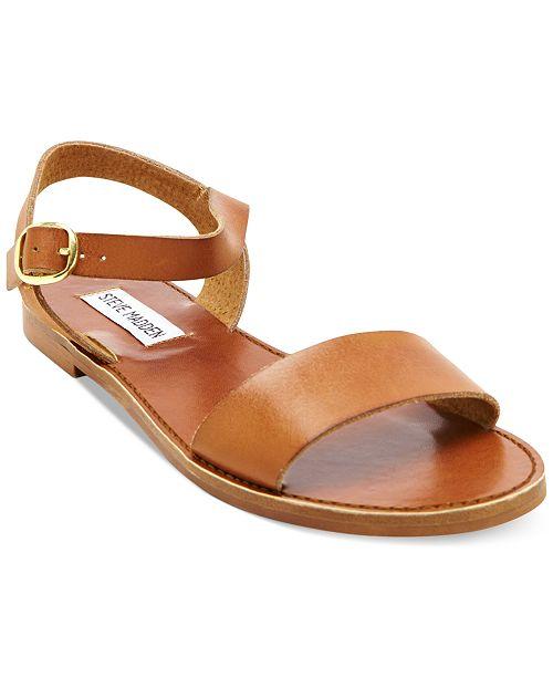 7ce4e1c745d Steve Madden Donddi Flat Sandals   Reviews - Sandals   Flip Flops ...