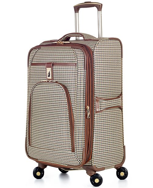 """London Fog CLOSEOUT! Cambridge 21"""" Carry On Spinner Suitcase"""