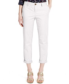 Cuffed Chino Straight-Leg Pants, Created for Macy's