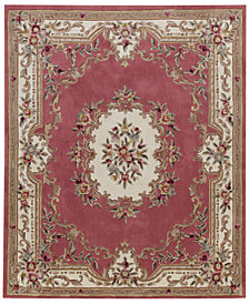 "CLOSEOUT! KM Home Dynasty Aubusson 2'6"" x 8' Runner Rug, Created for Macy's"
