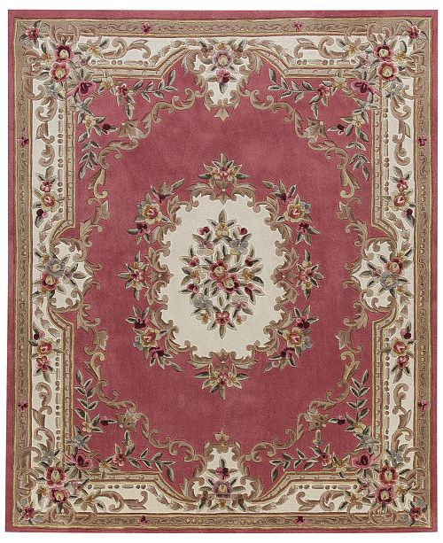 "KM Home CLOSEOUT! Dynasty Aubusson 7'6"" x 9'6"" Area Rug, Created for Macy's"