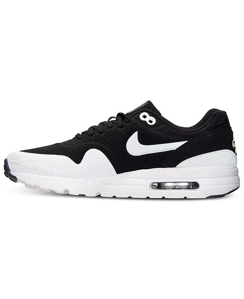 best cheap df313 f8651 ... Nike Men s Air Max 1 Ultra Moire Running Sneakers from Finish ...