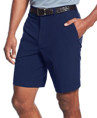 Cutter & Buck Big and Tall Men's Drytec Bainbridge Flat Front Shorts