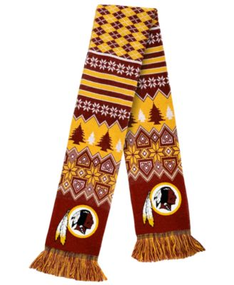 Forever Collectibles Washington Redskins Christmas Sweater Scarf ...