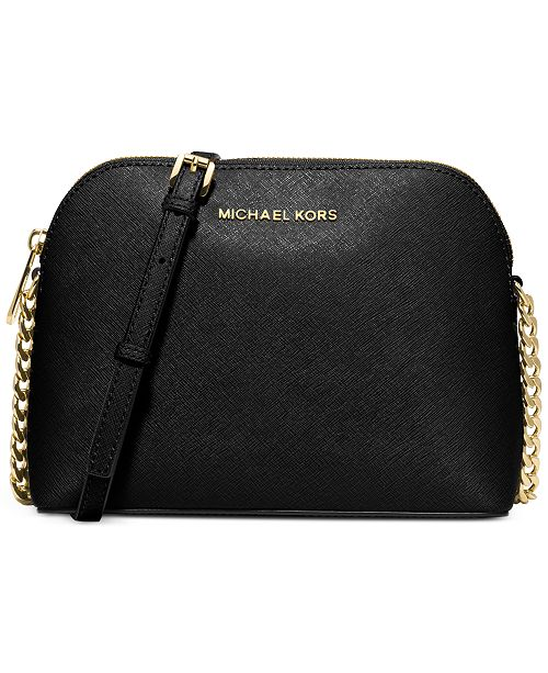 MICHAEL Michael Kors. Cindy Saffiano Dome Crossbody. 273 reviews. 5  Questions   18 Answers. main image  main image ... 8f8854353cd