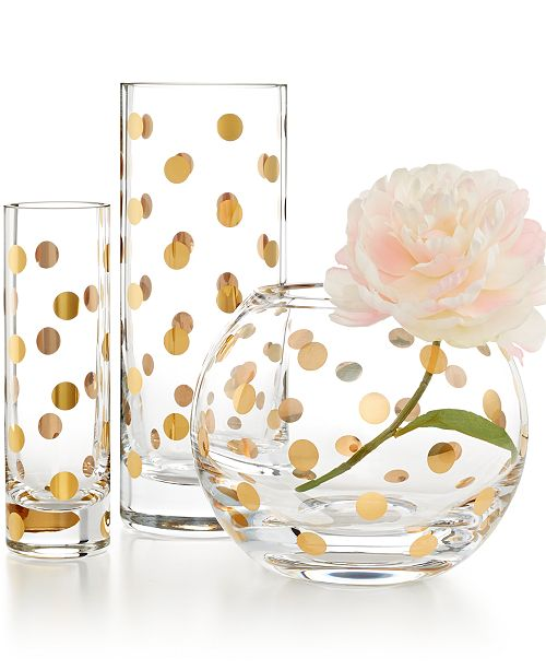 Kate Spade New York Pearl Place Vase Collection Bowls Vases Macys