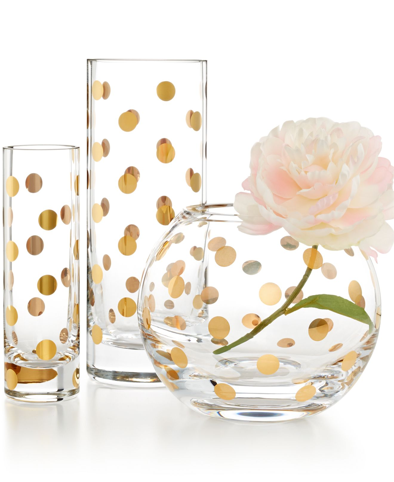 home decor kate spade dining collections macy s kate spade new york pearl place vase collection