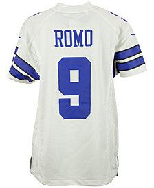 Nike Tony Romo Dallas Cowboys Game Jersey, Big Boys (8-20)