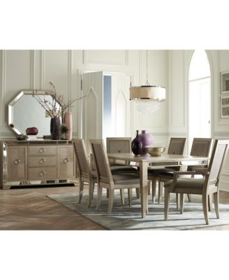 Ailey  Piece Dining Room Furniture Set Dining Table  Side - Macys dining room sets