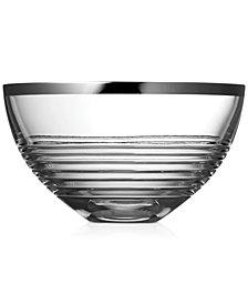 "Vera Wang Wedgwood Grosgrain Nouveau Platinum 10"" Bowl"