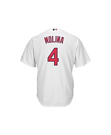 Majestic Men's Yadier Molina St. Louis Cardinals Player Replica Jersey