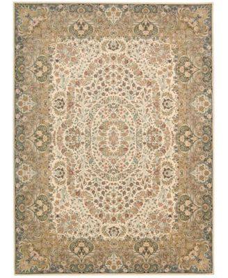 """Home Antiquities Stately Empire Ivory 9'10"""" x 13'2"""" Area Rug"""