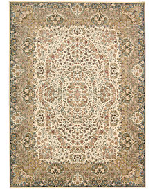 "kathy ireland Home Antiquities Stately Empire Ivory 9'10"" x 13'2"" Area Rug"