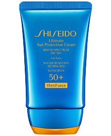 Shiseido Ultimate Sun Protection Cream SPF 50+ WetForce, 2 oz