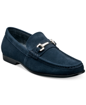 1960s Mens Shoes- Retro, Mod, Vintage Inspired Stacy Adams Ellson Suede Bit Loafer Mens Shoes $62.99 AT vintagedancer.com
