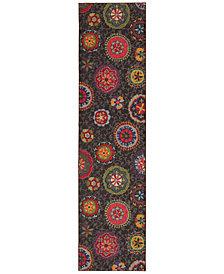 "Oriental Weavers Kaleidoscope 1333N Suzani 2'7"" x 10' Runner Rug"